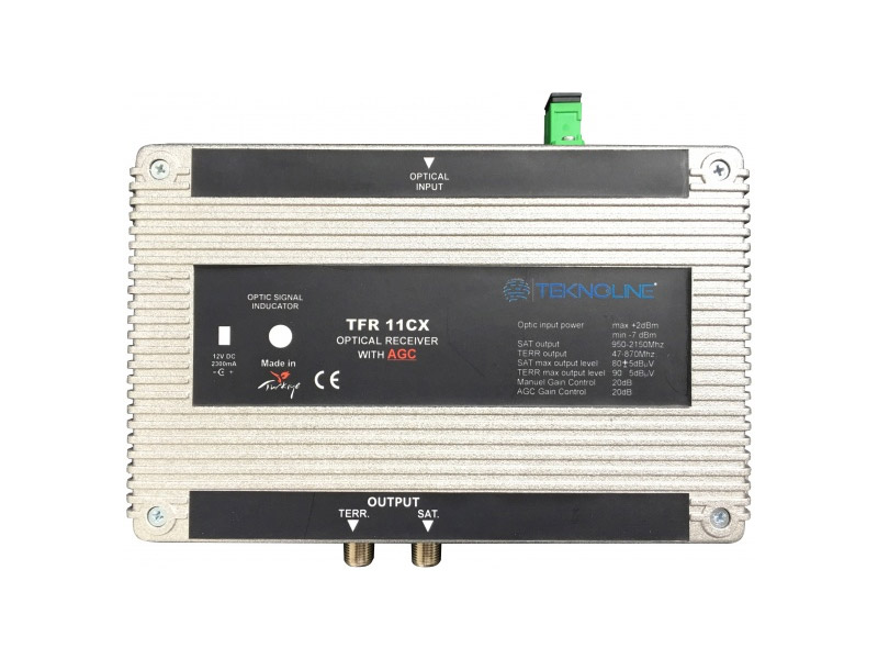 [TFR 11C] 1 RF + 1 IF Receiver