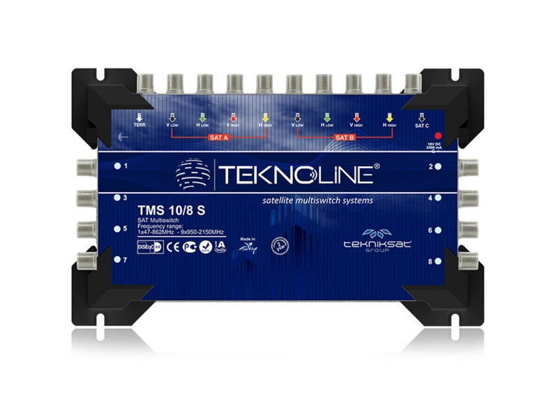 [TMS 10/8 S] 10 SERIES MULTISWITCH